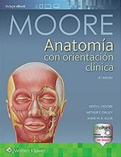 Anatomia con crientacion clinica (Clinically Oriented Anatomy). Text with Access Code Cover Image