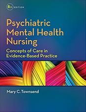 Psychiatric Mental Health Nursing Package. Includes Textbook and Psychiatric Nursing Pocket Guide Cover Image
