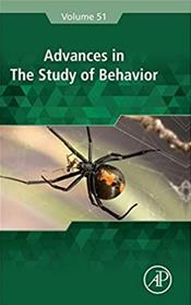 Advances in the Study of Behavior Cover Image