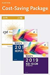 2019 ICD-10-CM Hospital Professional Edition. Includes HCPCS 2019 Professional Edition and CPT 2019 Professional Edition Cover Image