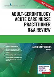 Adult-Gerontology Acute Care Nurse Practitioner Q&A Review. Text with Access Code Cover Image