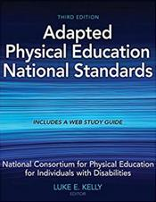 Adapted Physical Education National Standards. Text with Access Code Cover Image