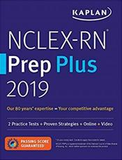 NCLEX-RN Prep PLUS 2019: Practice Tests and Proven Strategies Cover Image