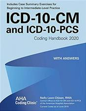 1CD-10-CM and ICD-10-PCS: Coding Handbook 2020. With Answers Cover Image