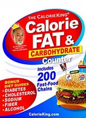 Calorie King: Calorie, Fat and Carbohydrate Counter 2019