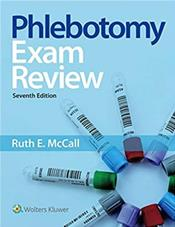 Phlebotomy Exam Review. Text with Access Code Cover Image