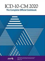 ICD-10-CM 2020: The Complete Official Codebook Cover Image