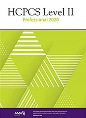 HCPCS 2020: Level II Professional Edition Cover Image
