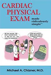 Cardiac Physical Exam Made Ridiculously Simple Cover Image