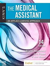 Kinns The Medical Assistant: An Applied Learning Approach. Text with Access Code Cover Image