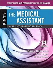 Study Guide and Procedure Checklist Manual for Kinns The Medical Assistant Cover Image