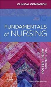Clinical Companion for Fundamentals of Nursing Cover Image