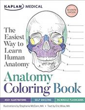 Anatomy Coloring Book Cover Image