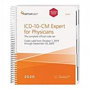ICD-10-CM Expert for Physicians 2020: The Complete Official Code Set. Codes Valid October 1, 2019 through September 30, 2020. With Guidelines Cover Image