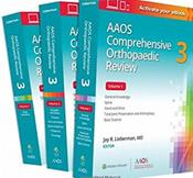 AAOS Comprehensive Orthopaedic Review 2. 3 Volume Set Cover Image