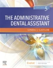 Administrative Dental Assistant. Text with Access Code Cover Image
