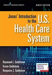 Jonas Introduction to the U.S. Health Care System Cover Image