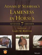 Adams & Stashaks Lameness In Horses Cover Image