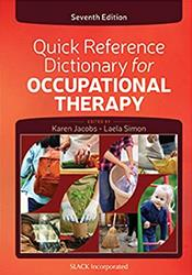 Quick Reference Dictionary for Occupational Therapy Cover Image