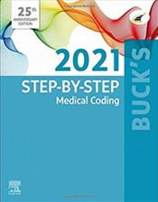 Bucks Step-by-Step 2021 Medical Coding. Text with Access Code Cover Image