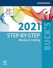Step-by-Step 2021 Medical Coding: Workbook Cover Image