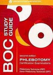 BOC (Board of Certification) Study Guide: Phlebotomy: Certification Exams Cover Image