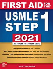 First Aid for the USMLE Step 1: 2021 Cover Image