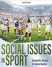 Social Issues in Sport. Text with HKPropel Access Cover Image
