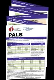 Pediatric Advanced Life Support (PALS) Pocket Reference Card: Vital Signs in Children Cover Image