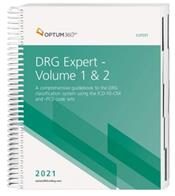 DRG Expert 2021: A Comprehensive Guidebook to the DRG Classification System. Using the ICD-10-CM and ICD-10-PCS Code Set. 2 Book Set Cover Image