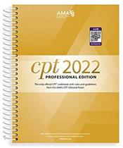 CPT 2022: Professional Edition (Spiral) Cover Image