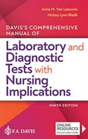 Daviss Comprehensive Manual of Laboratory and Diagnostic Tests with Nursing Implications Cover Image
