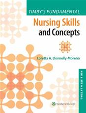 Timbys Fundamental Nursing Skills and Concepts. Text with Access Code Cover Image