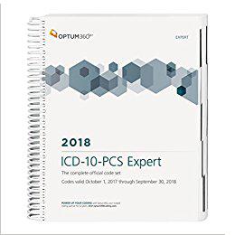 ICD-10-PCS Expert 2018 Spiral