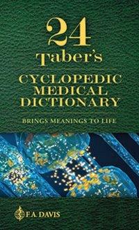 Taber's Cyclopedic Medical Dictionary. Thumb_Indexed Verson