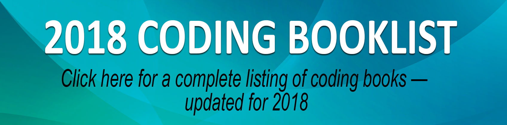 Coding Book List 2018