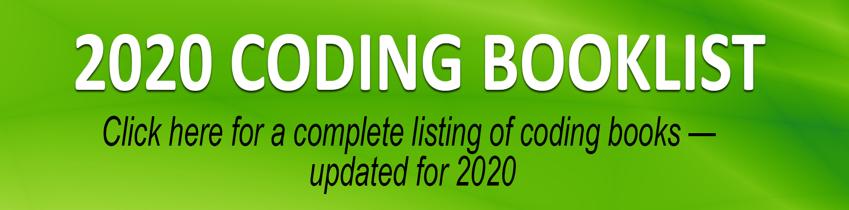 Coding Book List 2020