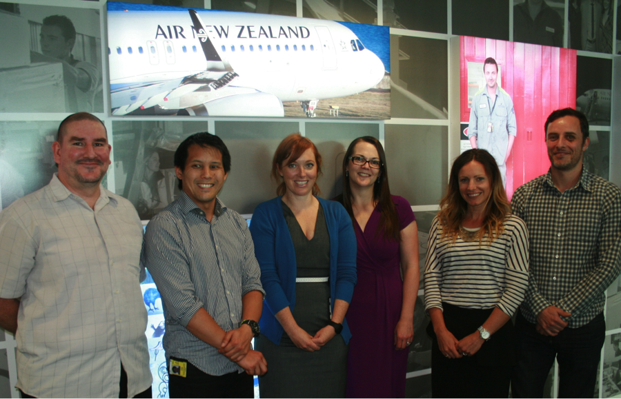 Air New Zealand Limited team photo