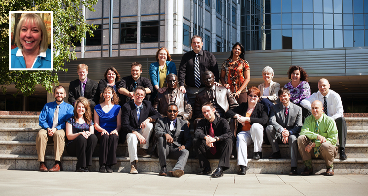 Mayo Clinic intranet team photo