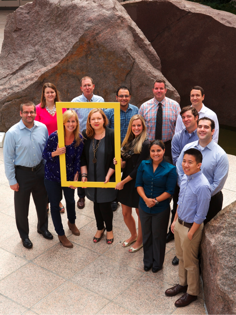 National Geographic Society intranet team photo