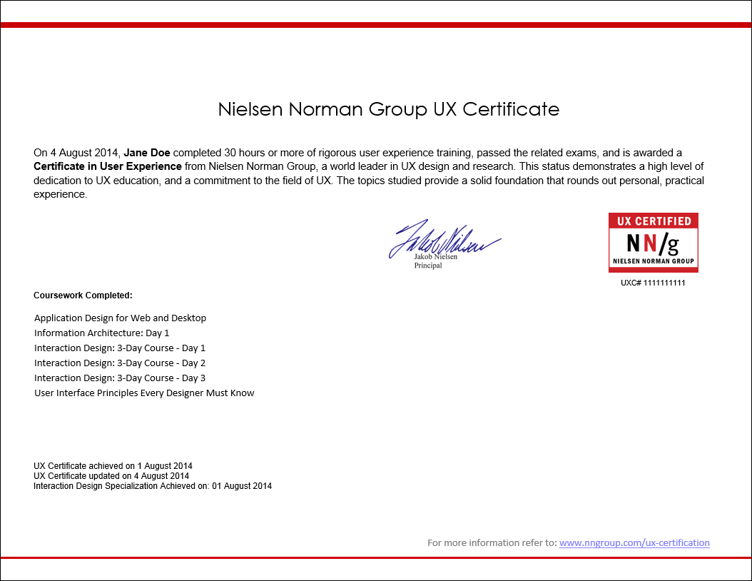 Dead Chuffed To Learn Ive Passed The Nielsen Norman Group User