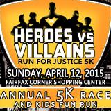 Heroes vs Villains Run for Justice 5k