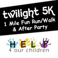 2015 Help 4 Our Children 5k Twilight Run & 1 Mile Fun Run