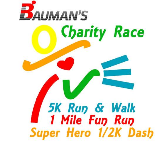 Bauman's Charity Race