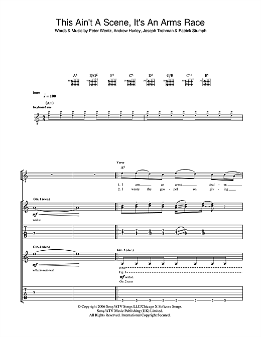 it aint me babe guitar tabs № 277312