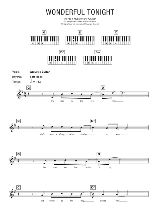 Exelent Save Tonight Chords Inspiration - Beginner Guitar Piano ...