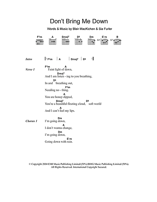 Breathe Me Sia Sheet Music Pdf