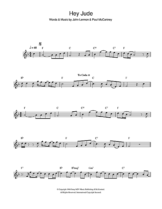 Nice Hey Jude Piano Chord Picture Collection - Song Chords Images ...