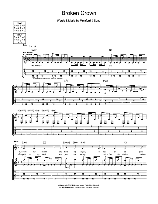 Exelent Mumford And Sons I Will Wait Chords Pictures - Beginner ...