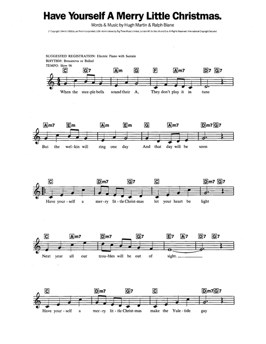 have yourself a merry little christmas chords next image